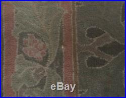 8' x 10' POTTERY BARN Cecil Rug Green Hand Tufted Wool Carpet