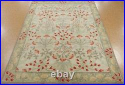 8' x 10' Pottery Barn Adeline Rug Multi New Hand Tufted Wool Ivory Carpet