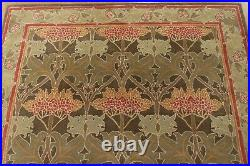 8' x 10' Pottery Barn Cecil Rug Green New Hand Tufted Wool Carpet