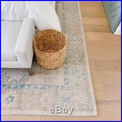 $999 Pottery Barn Finn Hand Knotted Wool Rug 5 x 8
