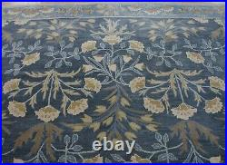 9' x 12' Pottery Barn Adeline Rug Blue Hand Tufted Wool New Carpet