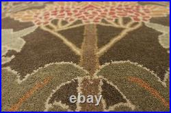9 x 12 Pottery Barn Cecil Rug Green New Wool Hand Tufted Carpet