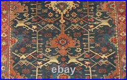 9' x 12' Pottery Barn Channing Indigo Rug New Hand Tufted Wool Carpet