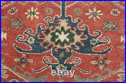 Hand Tufted Pottery Barn Channing Rug Red New Wool Carpet 8' x 10