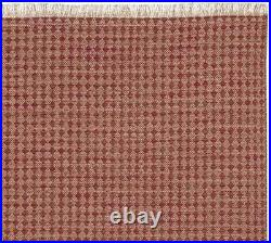 NEW RARE Pottery Barn Oden 8x10 Flatweave Kilim Dhurrie Style Rug Red/Multi