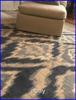 New 9 X 12 Area Rug Williams Sonoma Brand / Pottery Barn -Wool Hand Knot/India