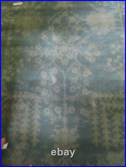 POTTERY BARN Esther Printed Rug-Blue-5 x 8 Brand new with tags