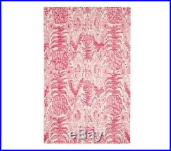 POTTERY BARN KIDS Lilly Pulitzer Tropi Call Me Rug 8 X 10