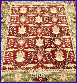 POTTERY BARN Retired FRANKLIN Oriental Handtufted Wool Rug 8x10 Whole Room