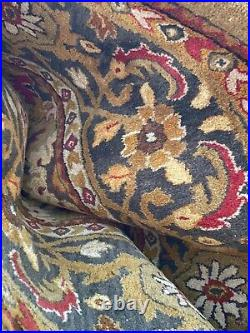 Paid $1550. Gorgeous 9x12 Pottery Barn Handtufted Wool Area Rug