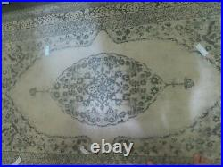 Pottery BARN Elyse Printed Rug-Gray-5 x 8-Brand New with tags