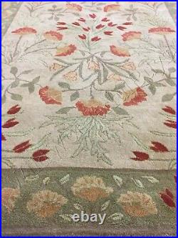 Pottery Barn Adeline Rug Multicolor 3x5 Tufted Wool Floral
