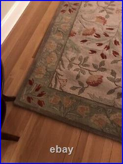 Pottery Barn Adeline Wool Rug 8 X 10 New! Local Pick Up Only REDUCED