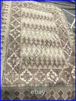 Pottery Barn Beatrix Rug Blush 3x5L Flatweave Hand Woven Neutral New Package