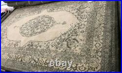 Pottery Barn Brant Rug 5x8 Medallion Hand Woven Wool Authentic New