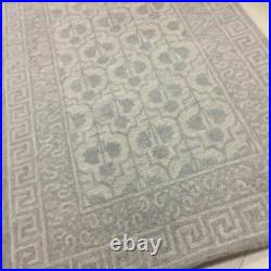 Pottery Barn Braylin Rug Gray 3x5L Tufted Wool New In Package