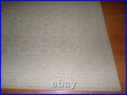 Pottery Barn Braylin Tufted Wool Rug Neutral, 5 X 8', New