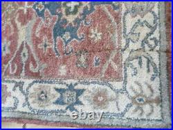Pottery Barn Channing Rug Red 3 X 5 ft Hand Tufted