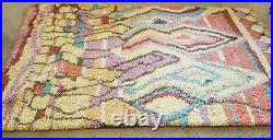 Pottery Barn Eleanora Handknotted Rug 100% Wool Size 5'x8' Multicolor