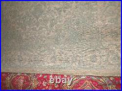 Pottery Barn Fahari Printed Antique Style Wool Rug, 5' X 8', Sage Multi, New