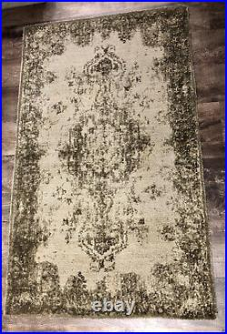 Pottery Barn Fallon Style Printed Tufted Rug 3x5 New, Retired