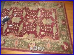 Pottery Barn Franklin Antique Style Wool Rug, New, 5 X 8