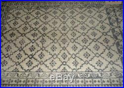Pottery Barn Gwyn Hand Knotted Wool Rug, 5 X 8, Charcoal Gray New Sold Out