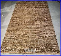 Pottery Barn Heather Chenille/Jute Rug, 5x8', Natural