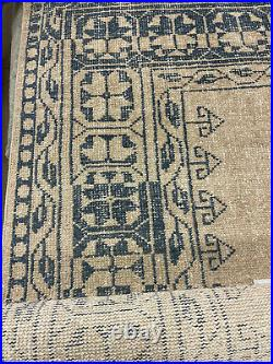 Pottery Barn Jaareh Hand-Knotted Wool Rug 9 x 12 Blue Multi NEW