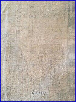 Pottery Barn Kailee Rug, 8 X 10, Porcelain Blue, Gently Used. Local Pickup Only