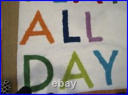 Pottery Barn Kids Machine Washable Play All Day Rug New