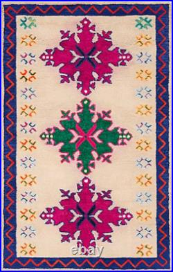 Pottery Barn Kids Moroccan Style Snowflake Rug 5x8 Brand New Southwest
