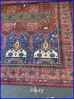 Pottery Barn Nicolette Hand-Knotted Wool Rug 8' x 10' Red NEW