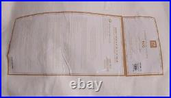 Pottery Barn PB Teen Ivory double sheepskin rug 2' wide x 6' long on hand now