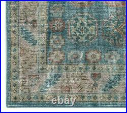 Pottery Barn Rhian Hand-Knotted Wool Rug, 5' x 8', Navy Blue