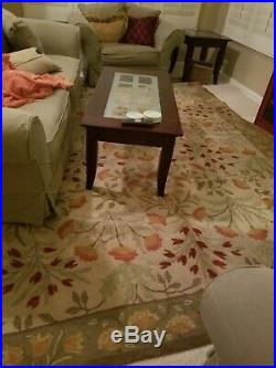Pottery Barn Rug and Runner, Adeline, Runner 2.5x9' Rug 8x10'. New they are $800