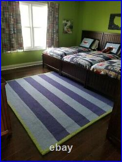 Pottery Barn Rugby Striped Rug 8 x 10