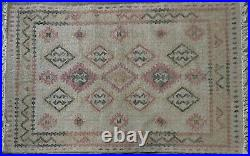 Pottery Barn Solange Synthetic Kilim Indoor/Outdoor 3x5 Rug Authentic