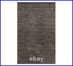 Pottery Barn Taylor Hand Tufted Charcoal Wool Rug 5'x8' NWT SOLD OUT