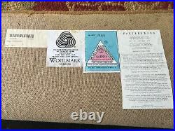 Potterybarn Palampore Red Wool Hand Tufted 8x10 Area Rug