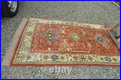 Rug POTTERY BARN 5 X 8 Channing 100% Wool Excellent Pre-owned SALE